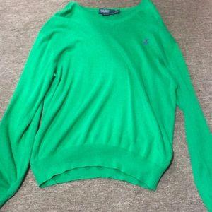 Size xl green polo